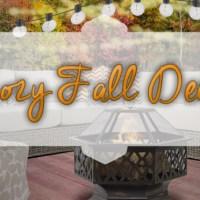 Cozy Fall Outdoor Spaces