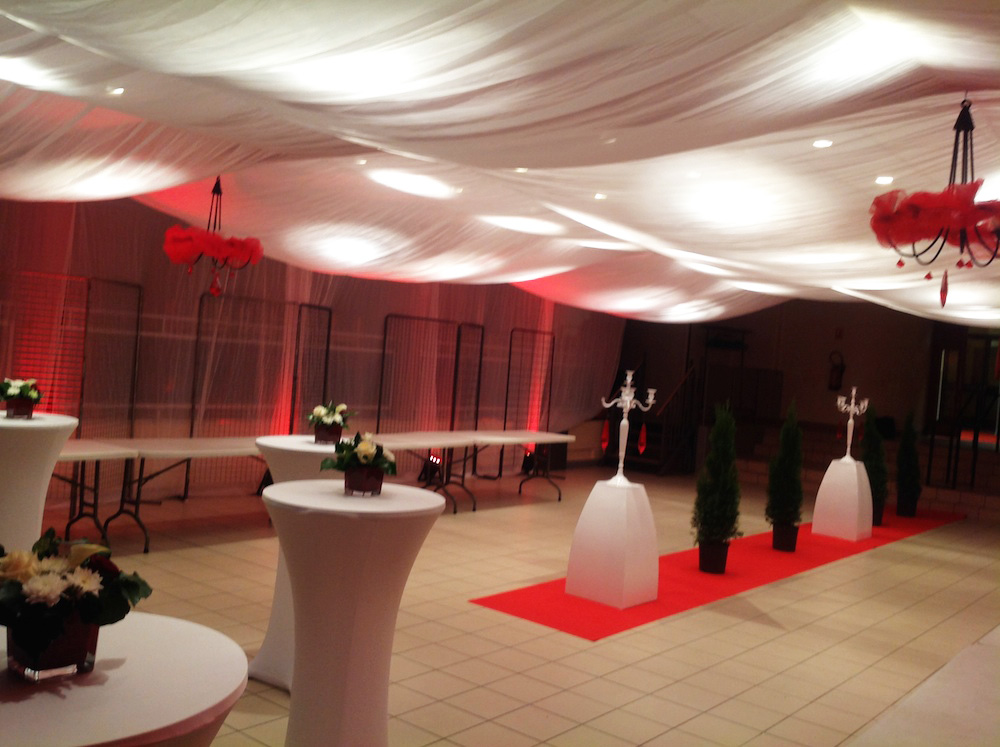 Transformation de salle décoration et mange-debout