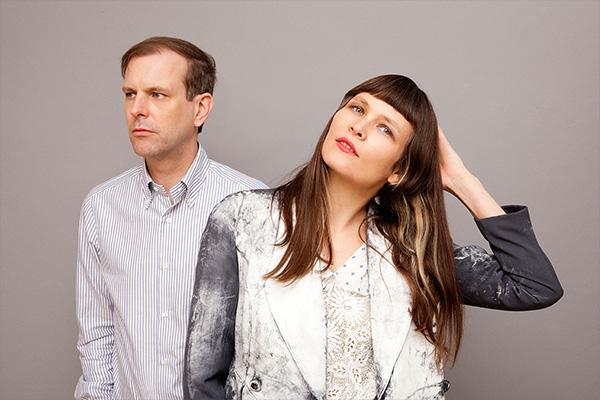 Liz Wendelbo and Sean McBride