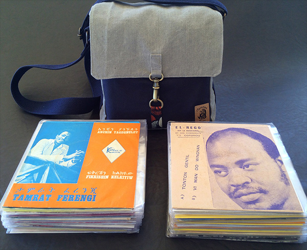 Teranga 7″ Record Bag