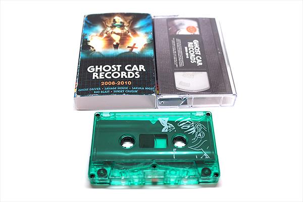 Ghostcar VHS Cassette