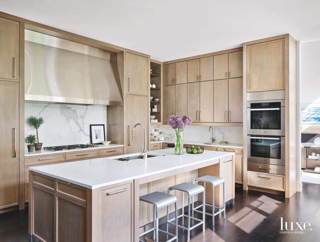 Rising Stars  White Oak Kitchens  BANDD DESIGN