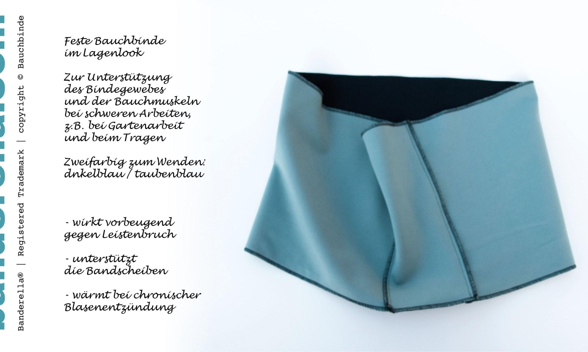 Bruchband oder Taillengürtel: Shapewear - aber über den normalen Klamotten