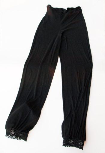 schlafanzughose - nahtlos - Material: Feinripp, Modal