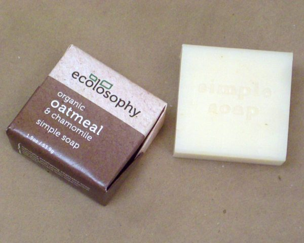 all natural soap small chamomile
