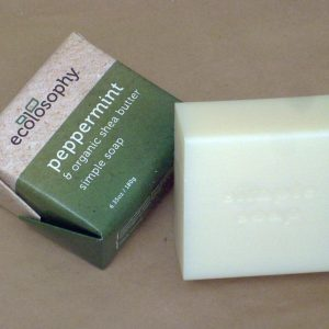 all natural soap peppermint essential oil