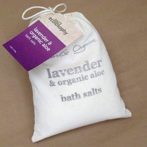 Natural Bath Crystals lavender large