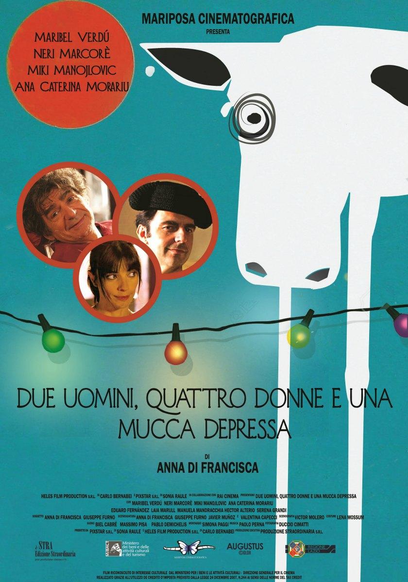 Due Uomini, Quattro Donne E Una Mucca Depressa Cinemabeltrade