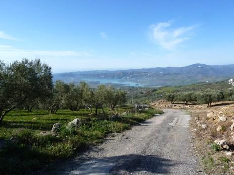 Road to El Canuelo