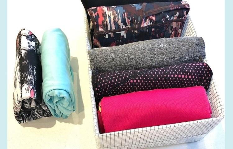 marie kondo how to organize clothes