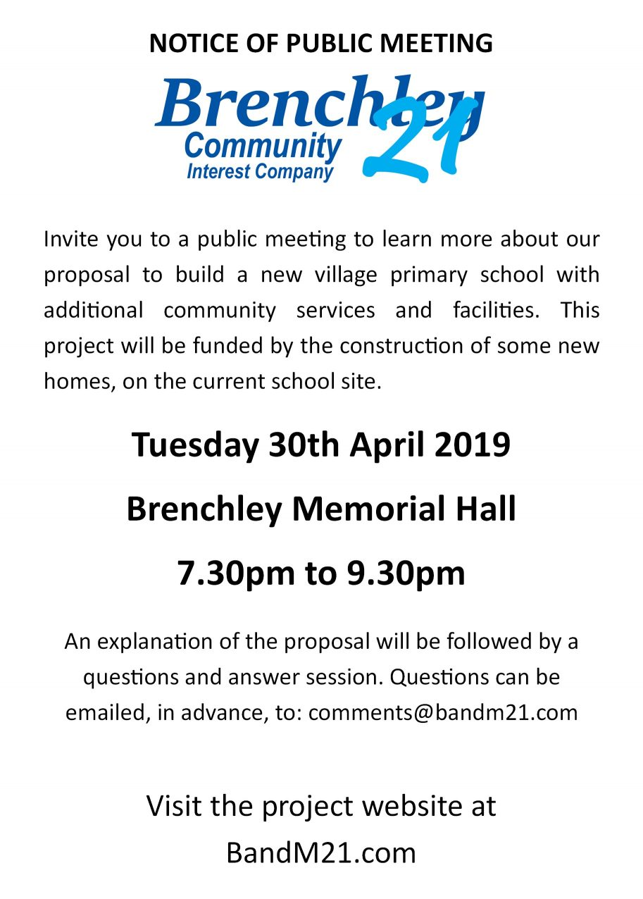 Date Set for Public Meeting