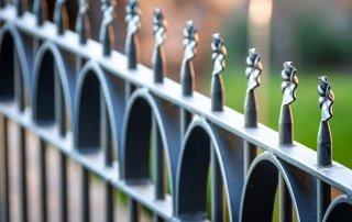 Powder Coated Fence