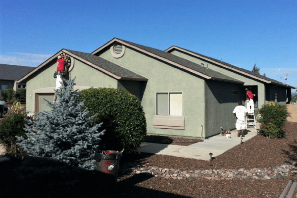 Exterior by B&M Painting Pros