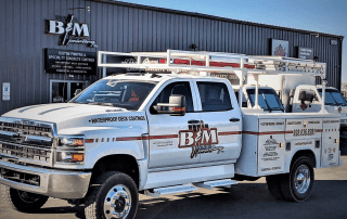 picture of B&M work truck