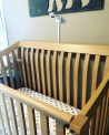 Miku Monitor mounted above crib