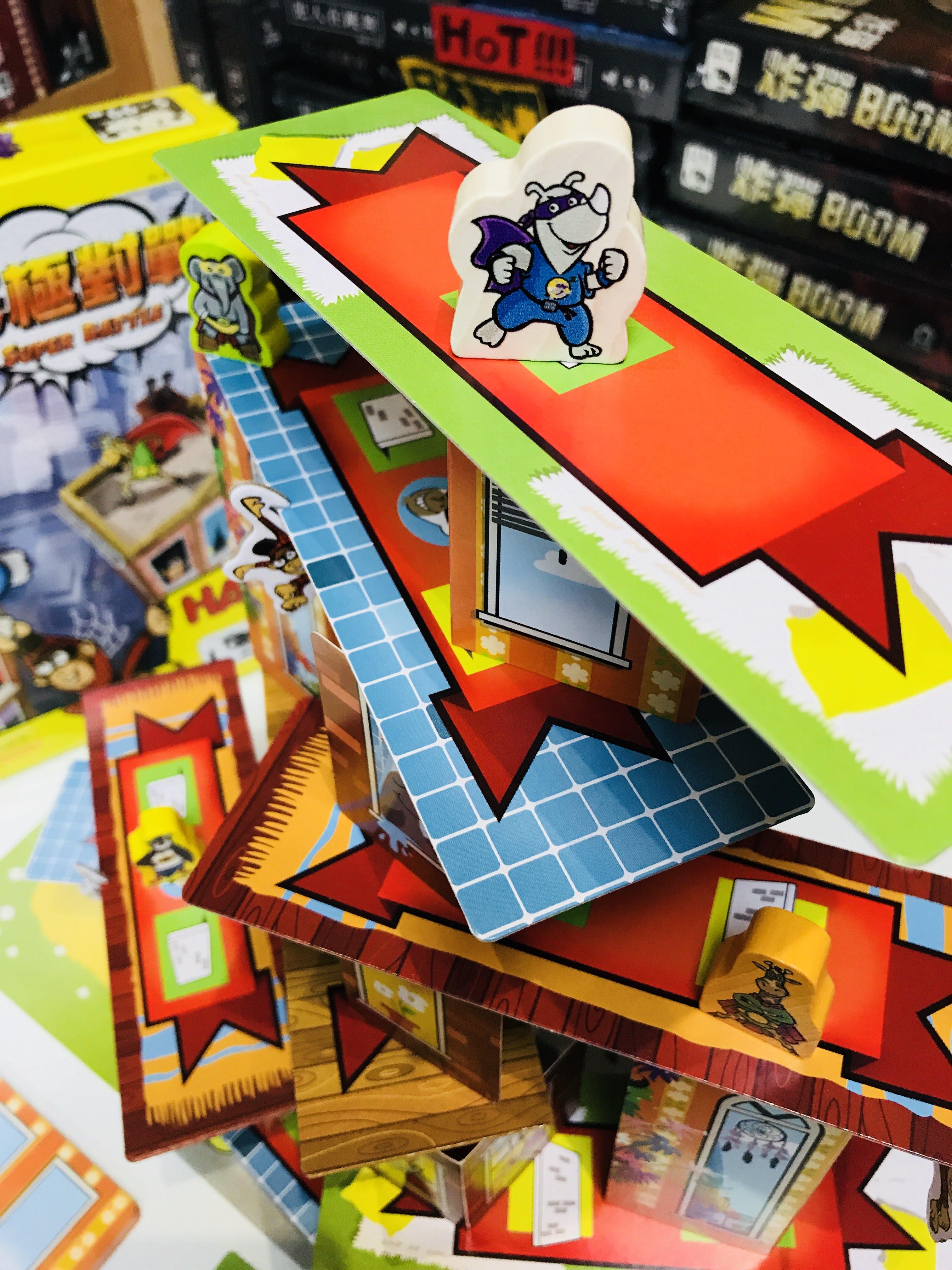【焦點桌遊】《超級犀牛:終極對戰》 (新貨到!) – 伴桌趣益智桌遊