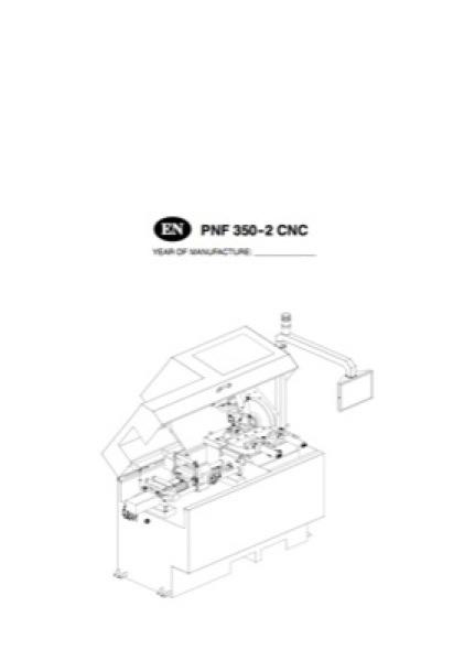 Band Saw Manual Hyd Mech 815429_PNF350-2CNC