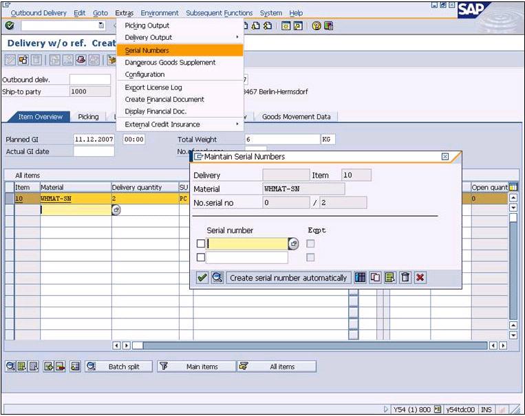 Sap Serial Number Management - bandsbrown