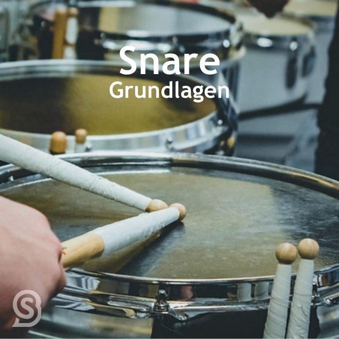 Lerne grundlegende Spieltechniken auf der Snare - mit BANDSNAP