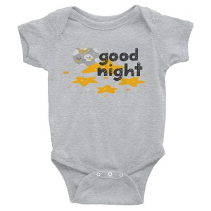 Good Night Infant Bodysuit