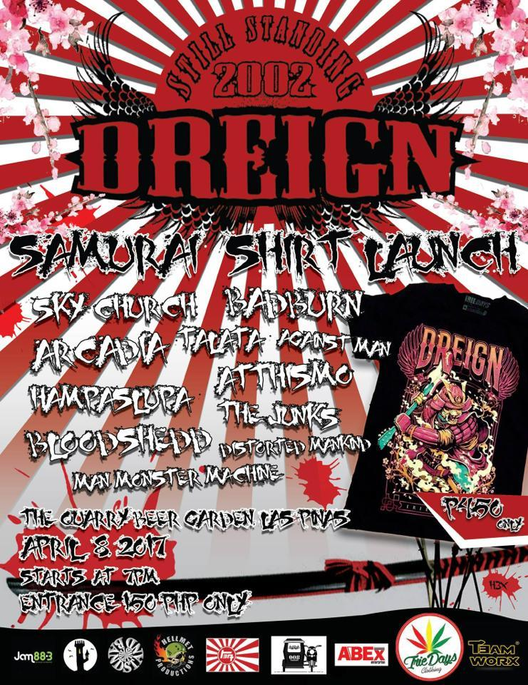 Dreign Samurai Shirt Launch