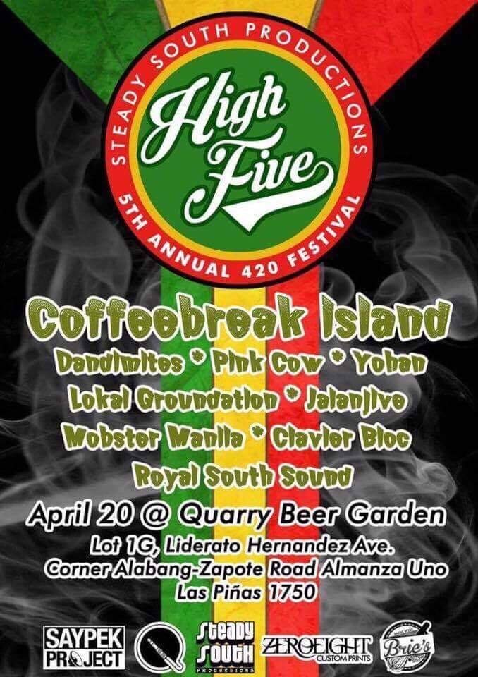 High Five : 5th Annual 420 Festival