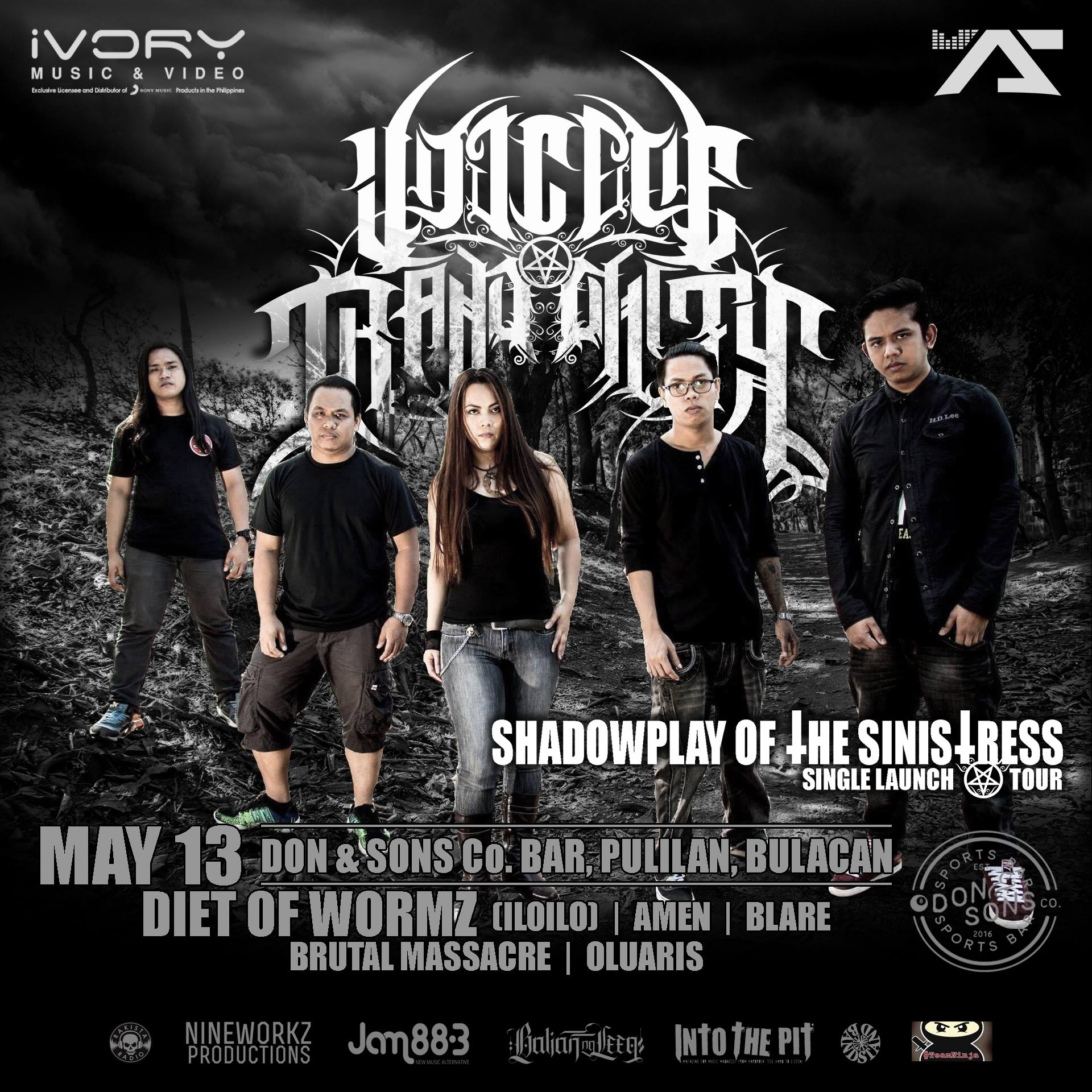 VOT: Shadowplay of the Sinistress Allegiance Tour. Bulacan Leg