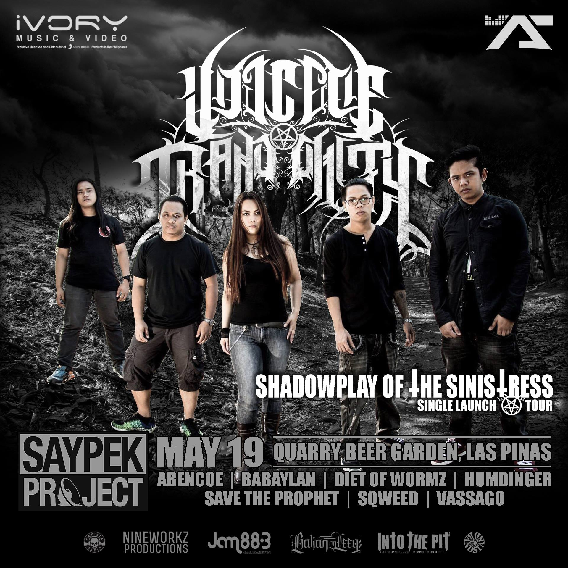 VOT: Shadowplay of the Sinistress Allegiance Tour. Las Piñas Leg