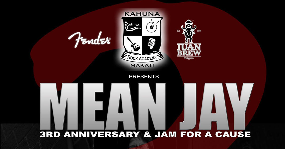 MEAN JAY 3rd Anniversary & Jam For a Cause