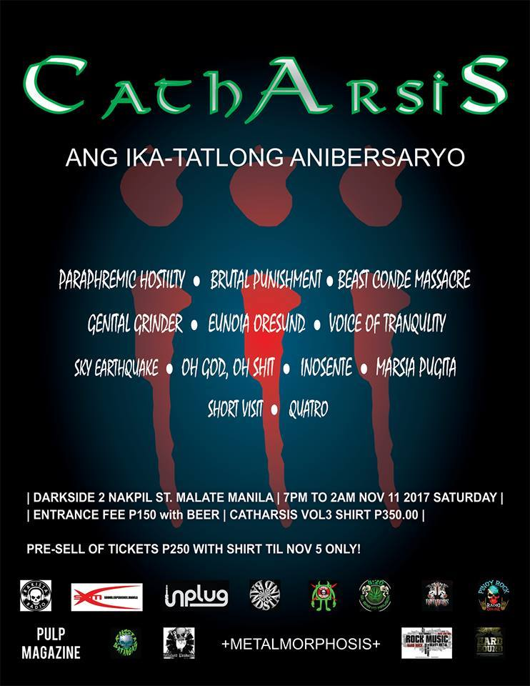 Catharsis Production 3rdAnniversary