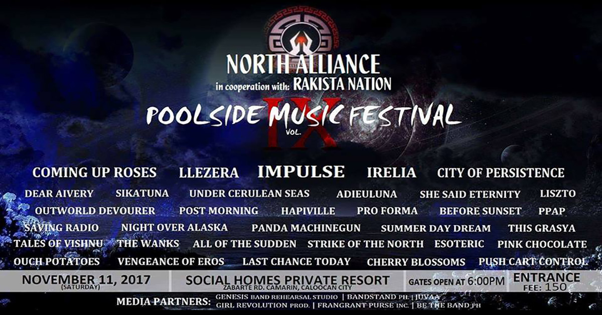 NA x RN : Poolside Musicfest vol IX