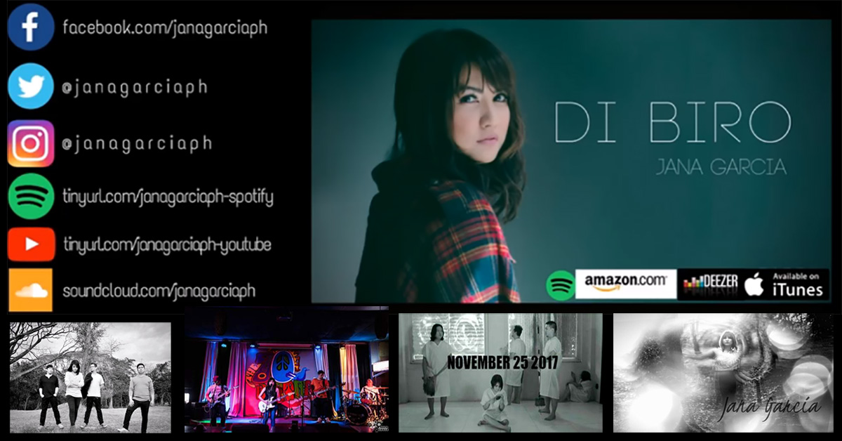 """Jana Garcia """"Di Biro"""" Music Video Launch"""