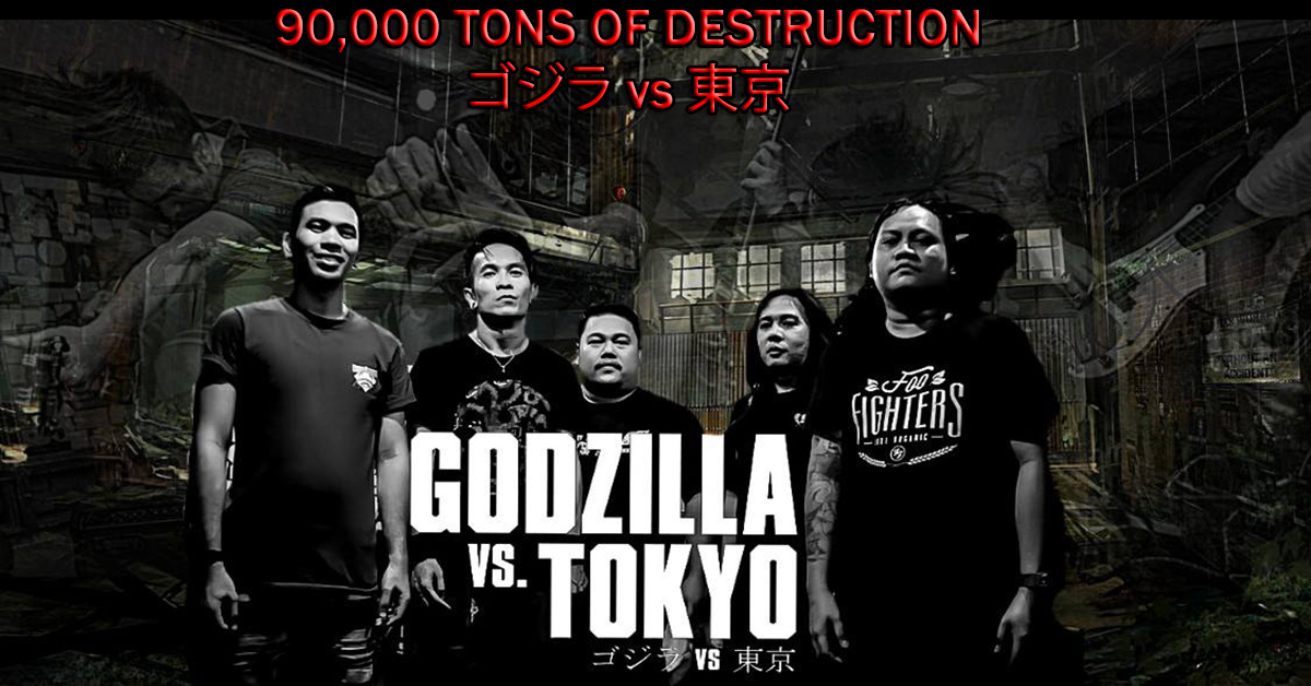 "Godzilla vs. Tokyo ""90,000 TONS OF DESTRUCTION"""