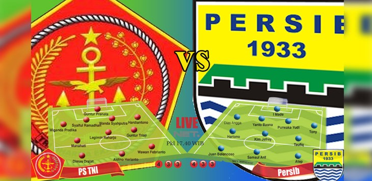 Persib vs PS Tira