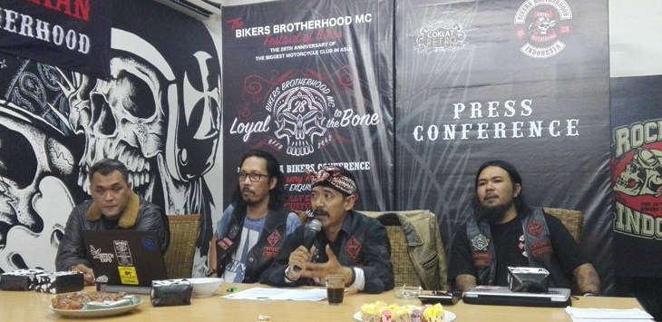 Bikers Brotherhood Motor Club (BBMC) Bandung