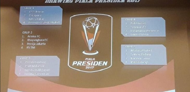 Drawing Piala Presiden