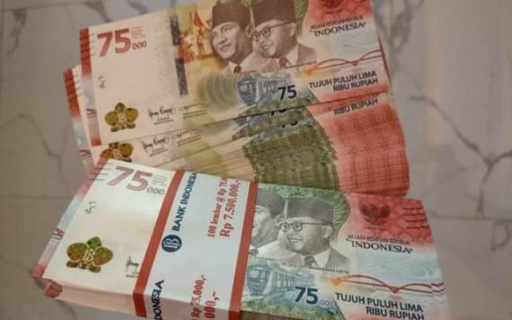uang 75 ribu rupiah