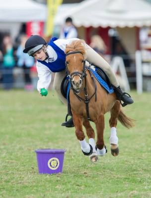 Pony Club Mounted Games - Belton International Horse Trials 2014