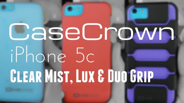 casecrown iphone 5c group pic