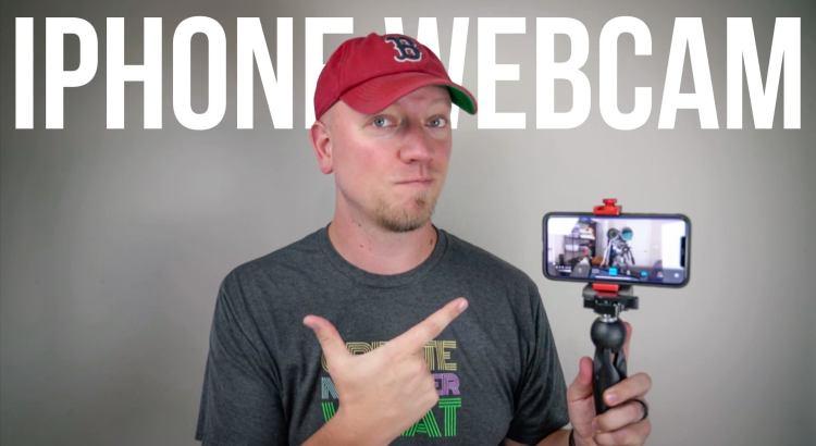 iPhone as a Webcam