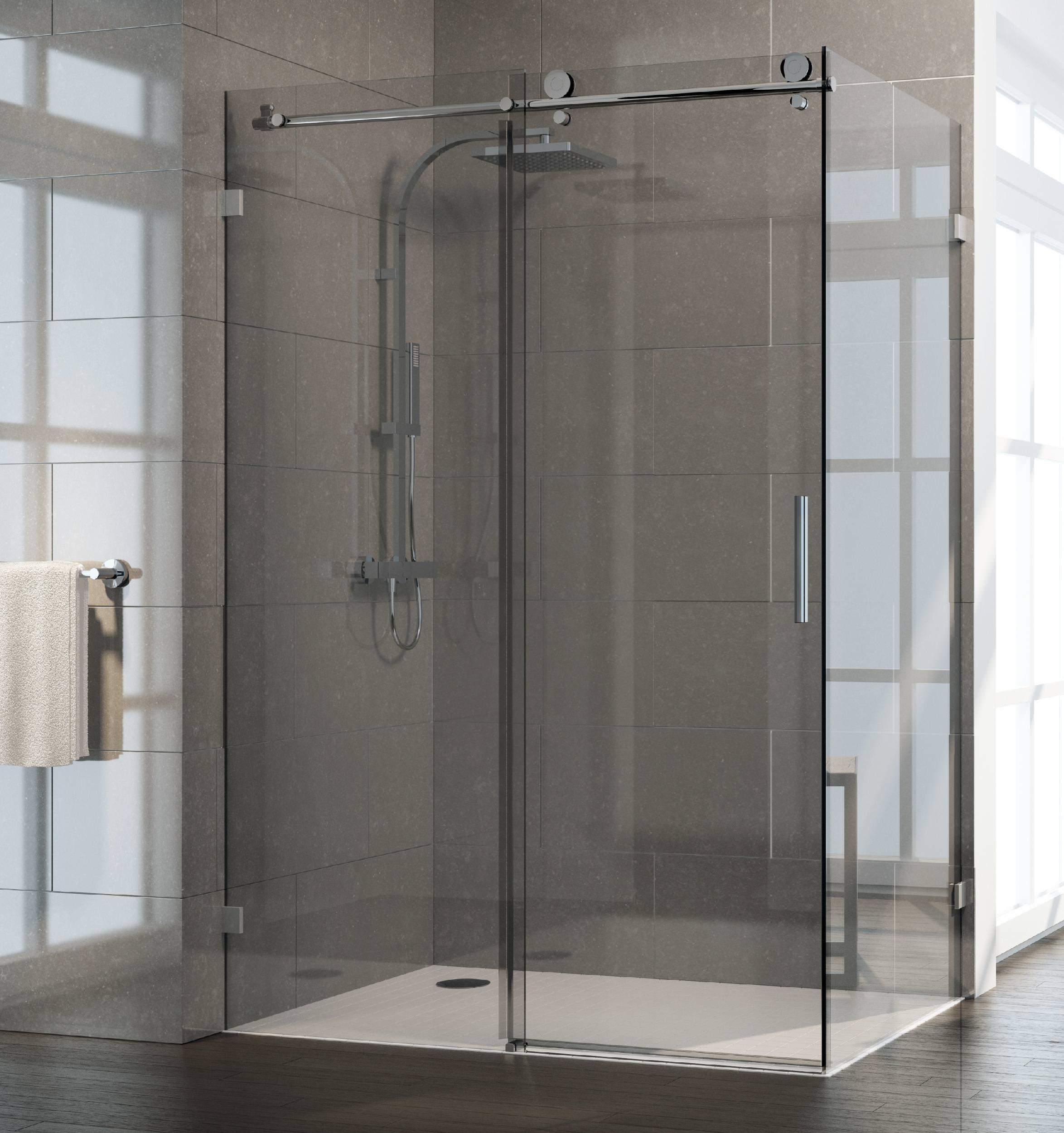 Duschkabine Schiebetür Reinigen