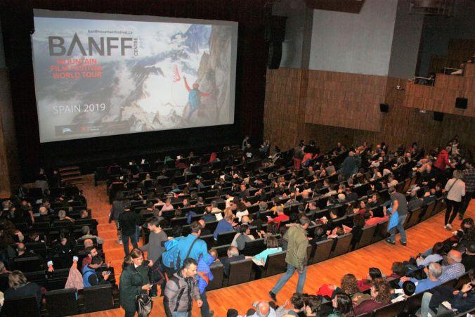 El auditorio Carlos Saura volvió a registrar un lleno absoluto para la sesión oficial del BANFF