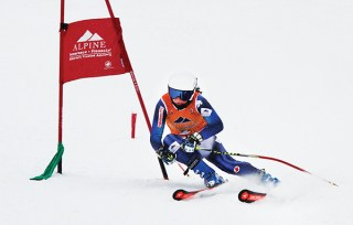 MEG CUMMING, a former member of Penticton's Apex Ski Club, will be competing for Team Alberta this season.