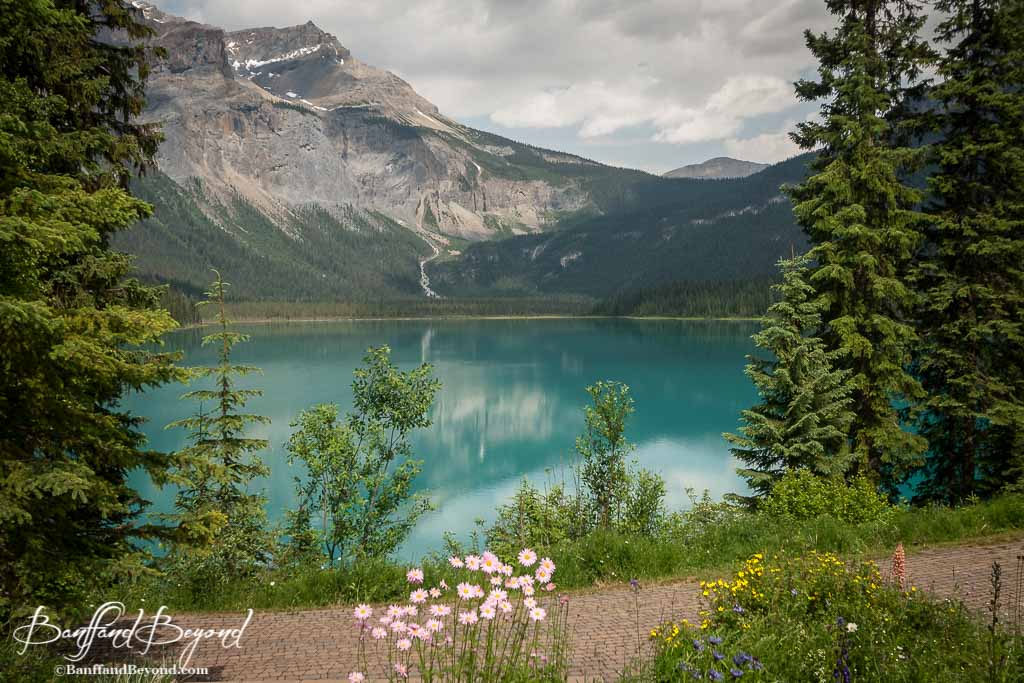 Emerald Lake Canoes Trails Food  Cabins  BanffandBeyond