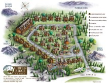 Banff Hidden Ridge Resorts Map