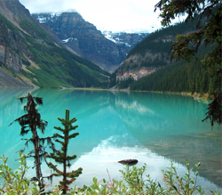 Turquoise Waters of Lake Louise, Canada