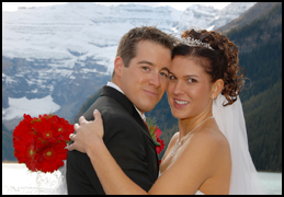 A Canadian Rockies wedding: the perfect place for a once-in-a-lifetime event.