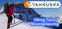 Yamnuska: providing guides for all your outdoor adventures in the Canadian Rockies and Banff National Park.