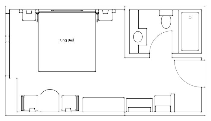 Standard Hotel Room at The Banff Ptarmigan Inn, Official