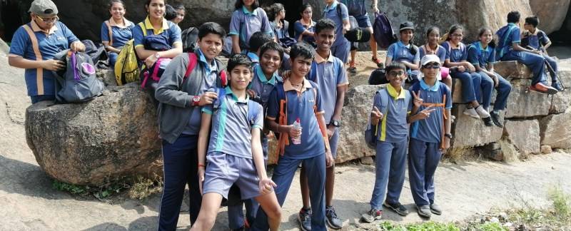 Ekya Schools - A day trek for School students
